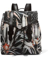 Proenza Schouler | Printed Canvas Backpack | Lyst