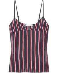 FRAME Stripe Camisole Top - Blue
