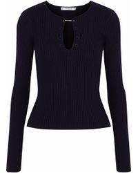 10 Crosby Derek Lam - Ribbed-knit Wool Sweater - Lyst