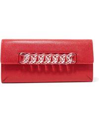 Charlotte Olympia - Embellished Leather Wallet - Lyst