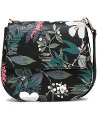 Kate Spade - Woman Cameron Street Leather Shoulder Bag Black - Lyst