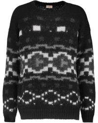 Talitha - Tahoe Intarsia-knit Alpaca Jumper - Lyst