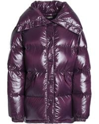 Nina Ricci - Quilted Coated-shell Down Coat - Lyst