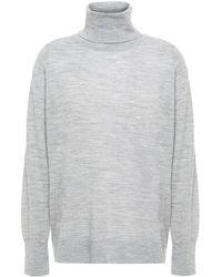 MICHAEL Michael Kors - Knitted Turtleneck Sweater - Lyst