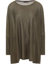 N.Peal Cashmere Cashmere Sweater Army Green