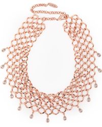 Luv Aj - Woman Necklaces Rose Gold - Lyst