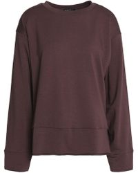 Koral - Stretch Modal And Cotton-blend Terry Sweatshirt - Lyst