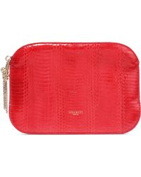 Nina Ricci | Elide Snake-effect Leather Pouch | Lyst