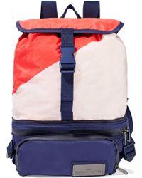 adidas By Stella McCartney - Run Convertible Mesh-paneled Color-block Shell Backpack - Lyst