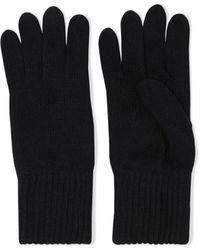Iris & Ink Cécile Cashmere Gloves - Black