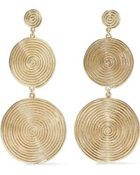 Elizabeth and James - Woman Gold-tone Earrings Gold - Lyst