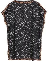 Dolce & Gabbana - Printed Cotton-gauze Kaftan - Lyst