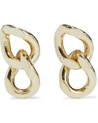 Iris & Ink Jodie 18-karat -plated Earrings - Metallic