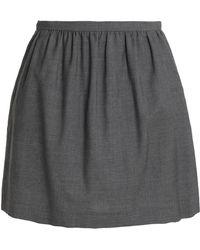 RED Valentino - Wool-twill Mini Skirt - Lyst