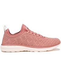 APL Shoes - Techloom Phantom Metallic 3d Mesh And Neoprene Sneakers Antique Rose - Lyst