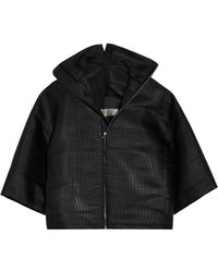 Rick Owens - Coated Woven Jacket - Lyst