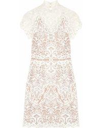 Catherine Deane - Java Guipure Lace Mini Dress - Lyst