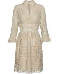 Anna Sui - Guipure Lace Dress - Lyst
