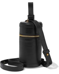 Zimmermann Canister Leather Shoulder Bag Black