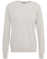 N.Peal Cashmere Cashmere Jumper Light Grey