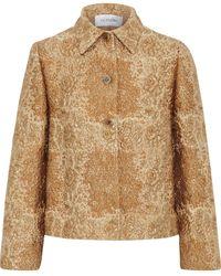 Valentino Brocade Jacket - Metallic