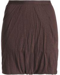 Rick Owens Lilies - Jersey Shorts - Lyst