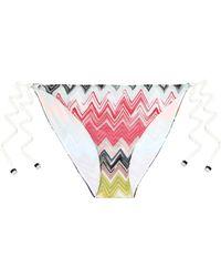 Missoni - Mare Crochet-knit Mid-rise Bikini Briefs - Lyst
