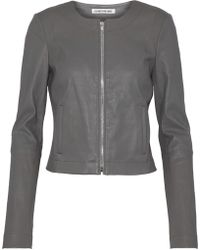 Elizabeth and James - Leather Jacket - Lyst