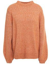 Lee Mathews Mélange Wool-blend Sweater - Multicolor