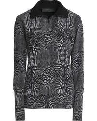 Norma Kamali - Printed Woven Jacket - Lyst