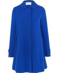 Harris Wharf London - Pleated Cotton-blend Jacket - Lyst