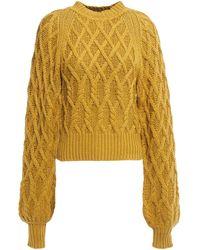 Equipment Roesia Sweater - Yellow