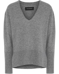 By Malene Birger - Accina Mélange Wool And Cashmere-blend Sweater - Lyst