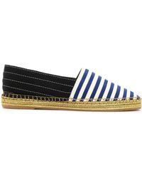 Marc Jacobs - Two-tone Striped Grosgain Espadrilles - Lyst