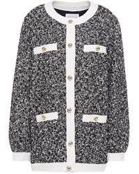 Claudie Pierlot Bouclé-tweed Jacket Black
