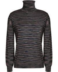 M Missoni - Wool-blend Turtleneck Jumper - Lyst