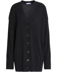 Equipment - Cutout Wool And Cashmere-blend Cardigan - Lyst