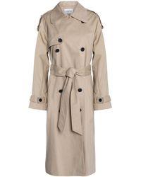 Claudie Pierlot - Cotton-gabardine Trench Coat - Lyst