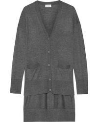 DKNY - Knitted Cardigan - Lyst