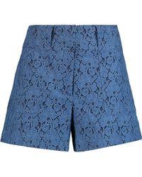 10 Crosby Derek Lam | Cotton-blend Corded Lace Shorts | Lyst