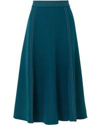 Stine Goya Jada Cady Midi Skirt - Blue