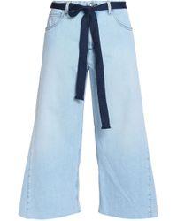 Sonia Rykiel - Wide-leg Jeans Light Denim - Lyst
