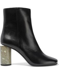 Acne Studios - Althea Leather Ankle Boots - Lyst