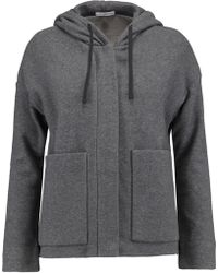 James Perse - Cotton-jersey Hooded Jacket - Lyst