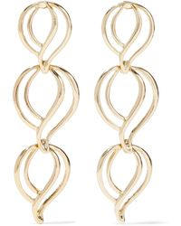 Kenneth Jay Lane Gold-plated Earrings Gold - Metallic