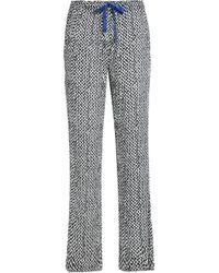 Calvin Klein - Printed Crepe Pyjama Trousers - Lyst