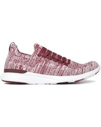 APL Shoes Sneakers Aus Stretch-strick - Lila
