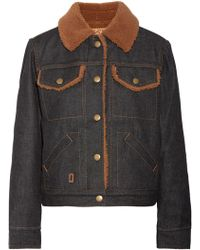 Marc Jacobs - Woman Casual Jackets Dark Denim - Lyst