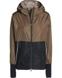 Sàpopa - Two-tone Shell Hooded Jacket - Lyst