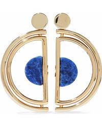 Ben-Amun - Gold-tone Agate Earrings - Lyst